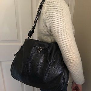 59fc64276791 Prada Bags | Rare Cervo Lux Nero Chain Special Edition | Poshmark